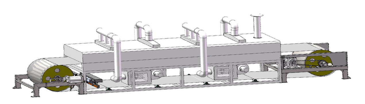 steel belt drying system