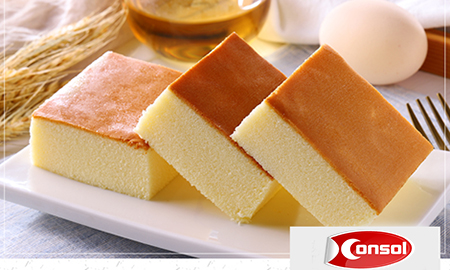 Consol steel belt system-Cake automated production line-the most popular cake in China
